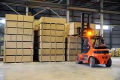 warehousing Arkivfoton
