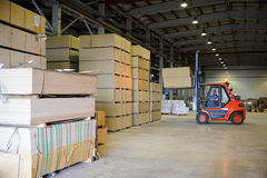 warehousing Arkivfoto