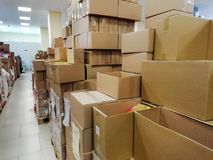 Warehousing Store. wholesale royalty free stock photography