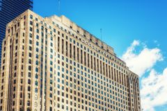Waren Mart Building Chicago lizenzfreie stockfotografie