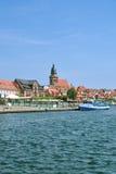 Waren Mueritz, district de lac Mecklenburg, Allemagne image libre de droits