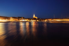 Waren at night Stock Photos