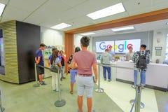 Waren-Speicher von Google lizenzfreie stockfotos