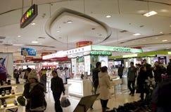 Warenhuis in China Stock Afbeelding