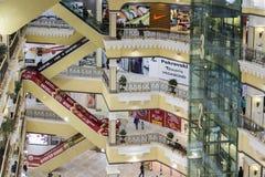 Warenhuis in yekaterinburg, Russische federatie Royalty-vrije Stock Afbeeldingen