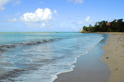 Warfe Beach St Lucia. Warfe Beach in St Lucia the West Indies Royalty Free Stock Photography
