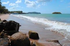 Warfe Beach St Lucia Royalty Free Stock Photo