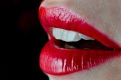 wargi czerwone Fotografia Royalty Free