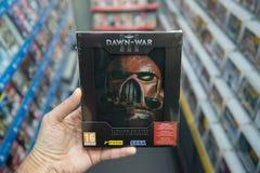 Warhammer 40.000 : Aube d'édition de War III Limited Photos stock