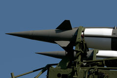 Warhead anti-aircraft missiles Stock Photography