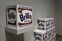 Warhol Brillo Auflagen Lizenzfreie Stockfotografie