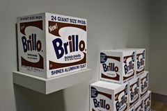 Warhol Brillo Pads Royalty Free Stock Photography