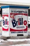 Warhol parkering Royaltyfri Fotografi