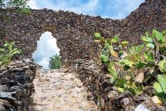 Wari Ruins in Peru Stock Photos