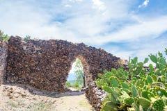 Wari Ruins in Peru Royalty Free Stock Images