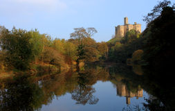 Warkworth castle Stock Image