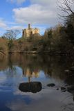 Warkworth Castle Royalty Free Stock Photo