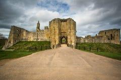 Warkworth Castle Royalty Free Stock Photos