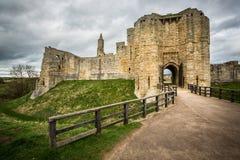 Warkworth Castle Stock Image