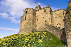 Warkworth Castles north Keep Royalty Free Stock Photos
