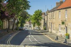 Warkworth główna ulica Zdjęcie Royalty Free
