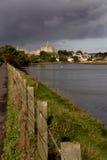 Warkworth Schloss stockbild