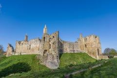 Warkworth slott arkivfoton