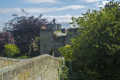 Warkworth and Warkworth Castle Stock Photography