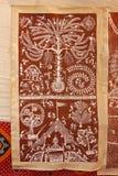 Warlimuurschilderij Royalty-vrije Stock Foto