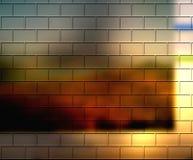 Warm Abstract Bricks Royalty Free Stock Images
