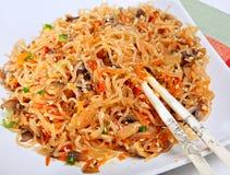 Warm asian salad Stock Photos