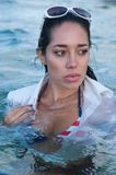 In the warm Atlantic Ocean Stock Photography