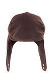 Warm autumn black headwear. Royalty Free Stock Photos