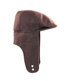 Warm autumn brown headwear. Stock Image