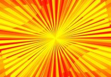 Warm background. Warm sunny bakground vector illustration