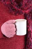 Warm beverage in Winter Stock Photos