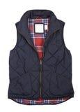 Warm blauw vest Royalty-vrije Stock Afbeeldingen