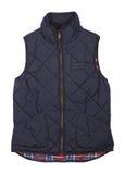 Warm blauw vest Royalty-vrije Stock Foto