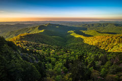 Warm Blue Ridge Mountain Sunrise 3 Royalty Free Stock Image