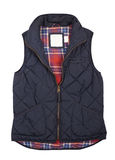 Warm blue vest Royalty Free Stock Images