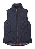 Warm blue vest Royalty Free Stock Photo