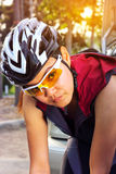 Warm body before cycling Stock Image