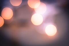 Warm Bokeh Abstract Lights Royalty Free Stock Images