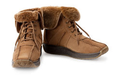 Warm boots Stock Photos