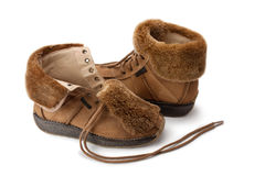Warm boots Stock Image