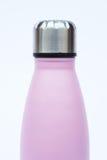 Warm bottle  on white background Stock Photo