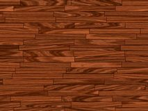 Warm brown parquet floor Stock Photos