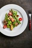 Warm Chicken Liver Salad Royalty Free Stock Photos