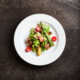 Warm Chicken Liver Salad Royalty Free Stock Photography