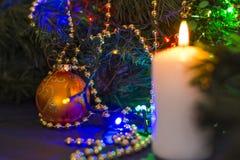 Warm christmas atmposhere Royalty Free Stock Image